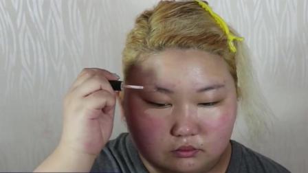 丑女去整容医生都不肯收, 化妆变仙女, 医生都不信这是她我是不是整容了