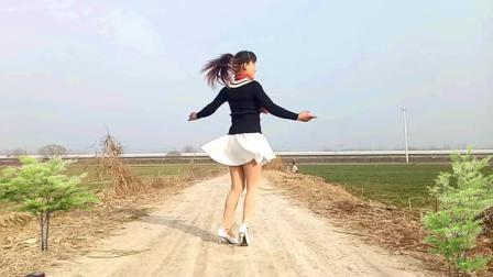 入门级自由广场舞步 你是我红尘中最美的缘 玫香广场舞