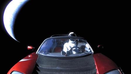 世界上第一个进入太空的汽车: 可能再也不会回来了!
