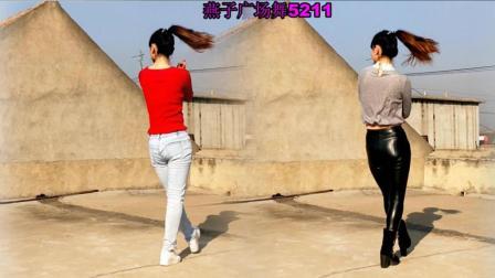 燕子广场舞5211 一晃就老了 附分解动作 32步广场舞视频教程
