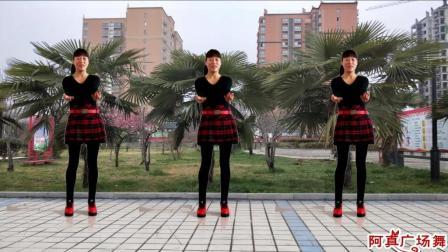 点击观看《阿真广场舞 美美哒 春天跳广场舞就好比黑白配!》