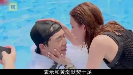 林志玲为了黄渤参加了两次综艺, 可黄渤的胆子却