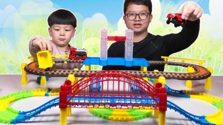开心农场小汽车玩具大全动画片小火车玩具玩具车轨道车视频
