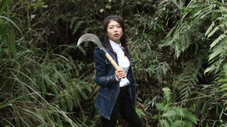 农村美女教你一招, 野物来一只套一只, 这方法太