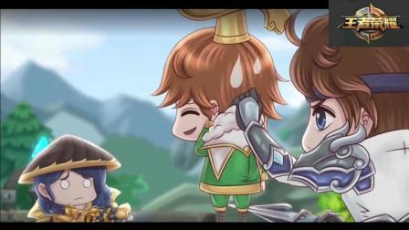 王者荣耀搞笑动画: 刘备嫌弃儿子刘禅打排位坑爹
