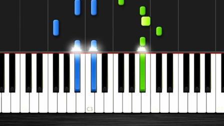 基础视频教学Faded,钢琴零教程学窗帘简易视视频的钢琴教程钩s图片
