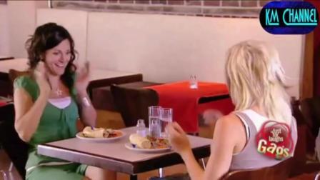 国外搞笑视频集, 歪果仁爆笑恶搞餐厅里的技术大