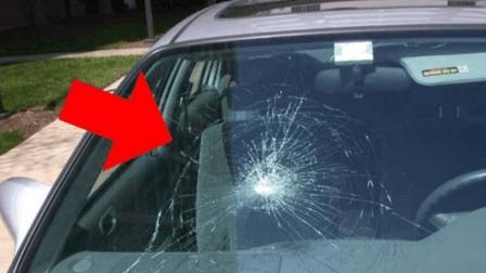 汽车挡风玻璃碎了不要怕, 最新发明玻璃修复液, 滴一滴痕迹都不留