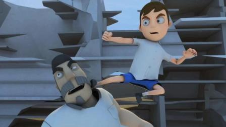 搞笑动画短片, 学生上课睡觉梦到和老师比试武功