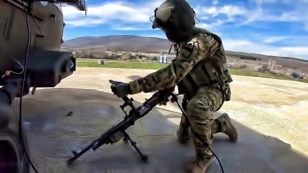 美国陆军在保加利亚•Novo Selo训练区-进行实弹军事演练(2018年)