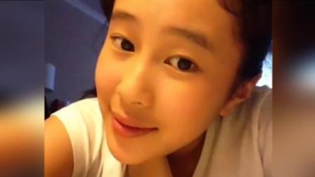 杨子12岁女儿自拍照曝光 甜美显成熟