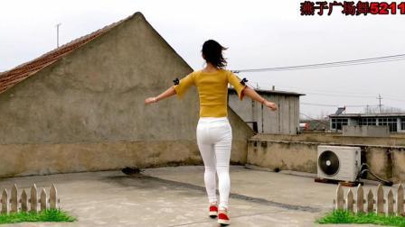 32步鬼步舞真好看 爱郎的心 燕子广场舞5211