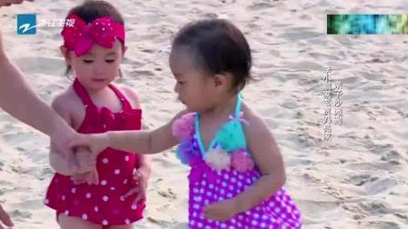 """""""综艺一姐""""馨爷主动牵手奥利, 被拒, 友"""