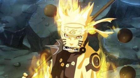 火影忍者: 鸣人手印一起, 同时瓦解斑和带土的攻击!