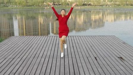 开心乐广场舞 昨夜的雨今天的你 动感健身舞
