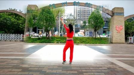 优柔广场舞教学分解视频 寂寞情歌 编舞 风中天使 正背面视频 动作口令讲解