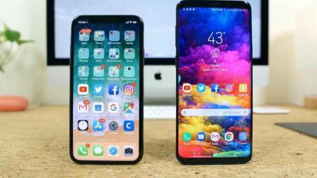 谁是更好的全面屏手机? iPhone X对比三星S9+