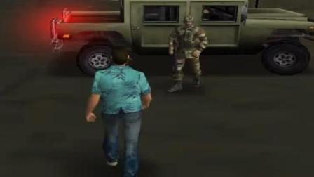 罪恶都市: 召唤军人cleo, 在马路上横行霸道, 看看会发生什么事?