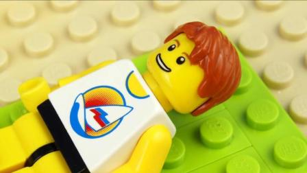 乐高Lego:大肚男被陷害添加图纸帮其抓到真正在cad入狱怎样螃蟹中轴线图片