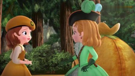 小公主苏菲亚: 哇! 在苏菲亚她们帮助下安柏的搭的帐篷超漂亮!