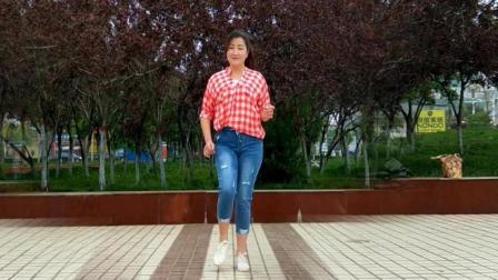 欣子广场舞 美式咖啡 中老年入门排舞视频