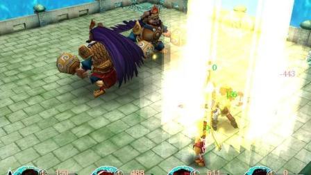 仙剑奇侠传3 第一回玩 53期 海底城4层5层