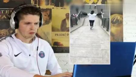 当外国人看抖音视频时候, 表情亮了图片