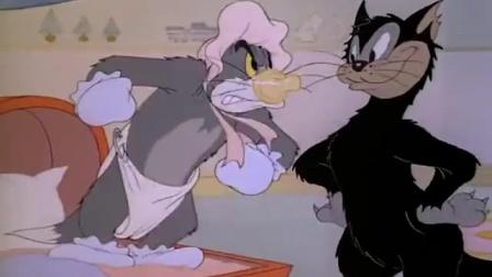 《猫和老鼠》33 Jerry装扮被识破 Tom拆房反被砸