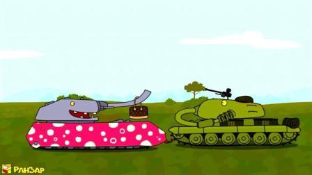 坦克世界: 搞笑动画之自定义涂装, 追求时尚的鼠