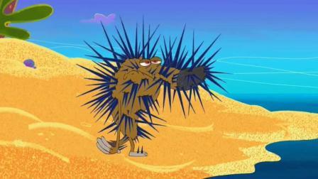 搞笑动画: 鬣狗和寄居蟹是真爱啊, 看了这短片就