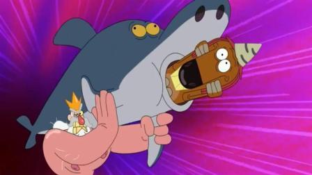 搞笑动画: 邪恶的巫师看上了美人鱼, 岛上将迎来