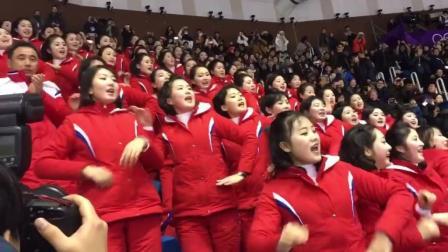 朝鲜美女魔性啦啦队, 已被成功洗脑