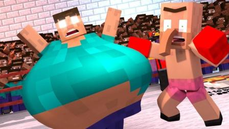《我的世界》搞笑动画, 胖子HIM上拳击台