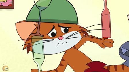 搞笑动画: 驴子准备送丘比特给妹子! 鹦鹉恶搞猫
