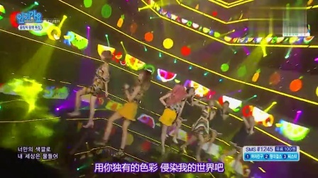 人气歌谣 2016 Melody Day演唱《Color》 舞蹈俏皮可爱宅男福利