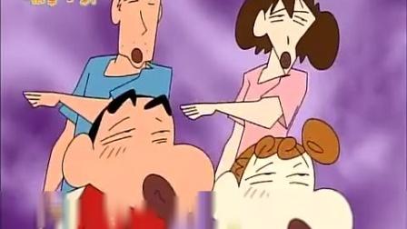 《蜡笔小新 第三季 》87集  果然小新这次又闯祸了,打碎了所有的碗盘哦