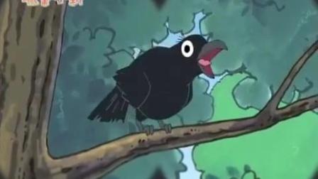 《蜡笔小新 第四季 》1574集  小新成功吸引了乌鸦的注意但是乌鸦却给正南便便到了头上