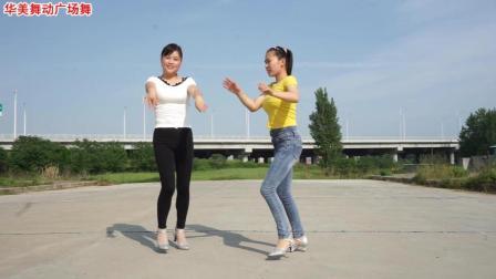 华美舞动广场舞 一路歌唱 32步时尚版 双人舞