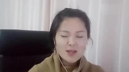 20岁美女演唱今天, 沁人心扉, 歌声伤感