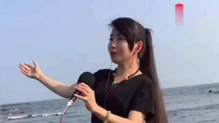 可爱美女翻唱歌曲飘洋过海来看你声音清脆婉转