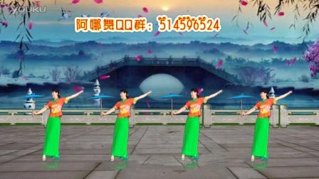 阿娜广场舞 雨伞舞 梦江南 正面