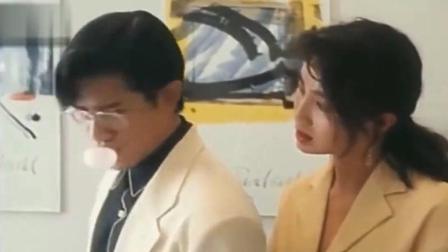 吴孟达伪装成椅子, 郭富城眼睁睁的看着女职员石