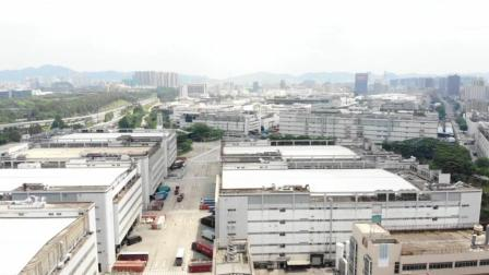 航拍世界超级工厂, 深圳龙华富士康