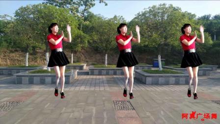点击观看《阿真广场舞 花儿哪有阿妹俏 中老年人在广场上跳的健身舞视频展示》