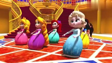 冰雪奇緣: 白雪公主他們一起聚會聊天唱歌跳舞