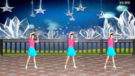 阿娜广场舞教学 一朵回忆心上开 正反面加分解