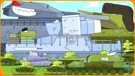 坦克世界搞笑动画-德系苏系从一级到十级 实力大