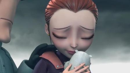 杰西卡到北极雪地,捡起地上的玩偶伤心欲绝:这是贝肯最爱的小熊