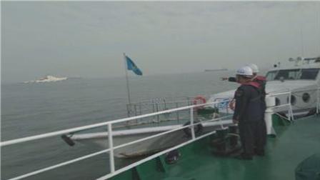 一货轮在浙江临海翻扣2人获救2人失踪
