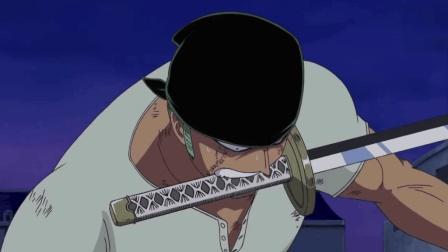 海贼王: 奥兹的身手真敏捷, 索隆攻击不顺遭重创